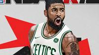 《NBA 2K18》新封面公布 欧文穿上了凯尔特人球衣