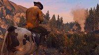 国外大神用《GTA5》重制《荒野大镖客2》预告 老崔骑奶牛横行霸道