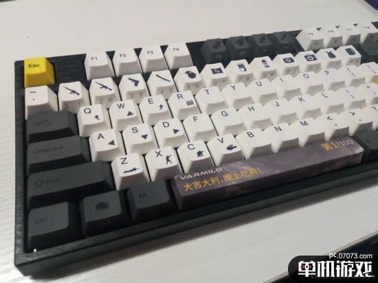 《绝地求生》主题键盘开箱 用料扎实的良心情怀之作