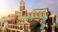 """大神在《我的世界》打造""""故城""""宫殿 彰显君王华贵与威严"""