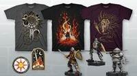 黑暗之魂与fangamer联动 黑魂风格T恤剁手也要买