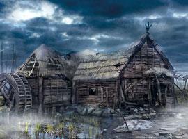 巫师3游戏原画