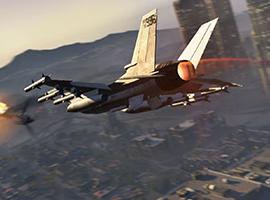 侠盗猎车手5空战高清截图