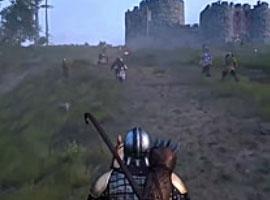 骑马与砍杀2发售时间及攻城实机演示视频