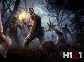 H1Z1游戏原画