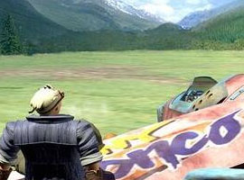 最终幻想7游戏截图三