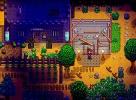 星露谷物语游戏画面