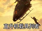 正当防卫3直升机载具种类列表