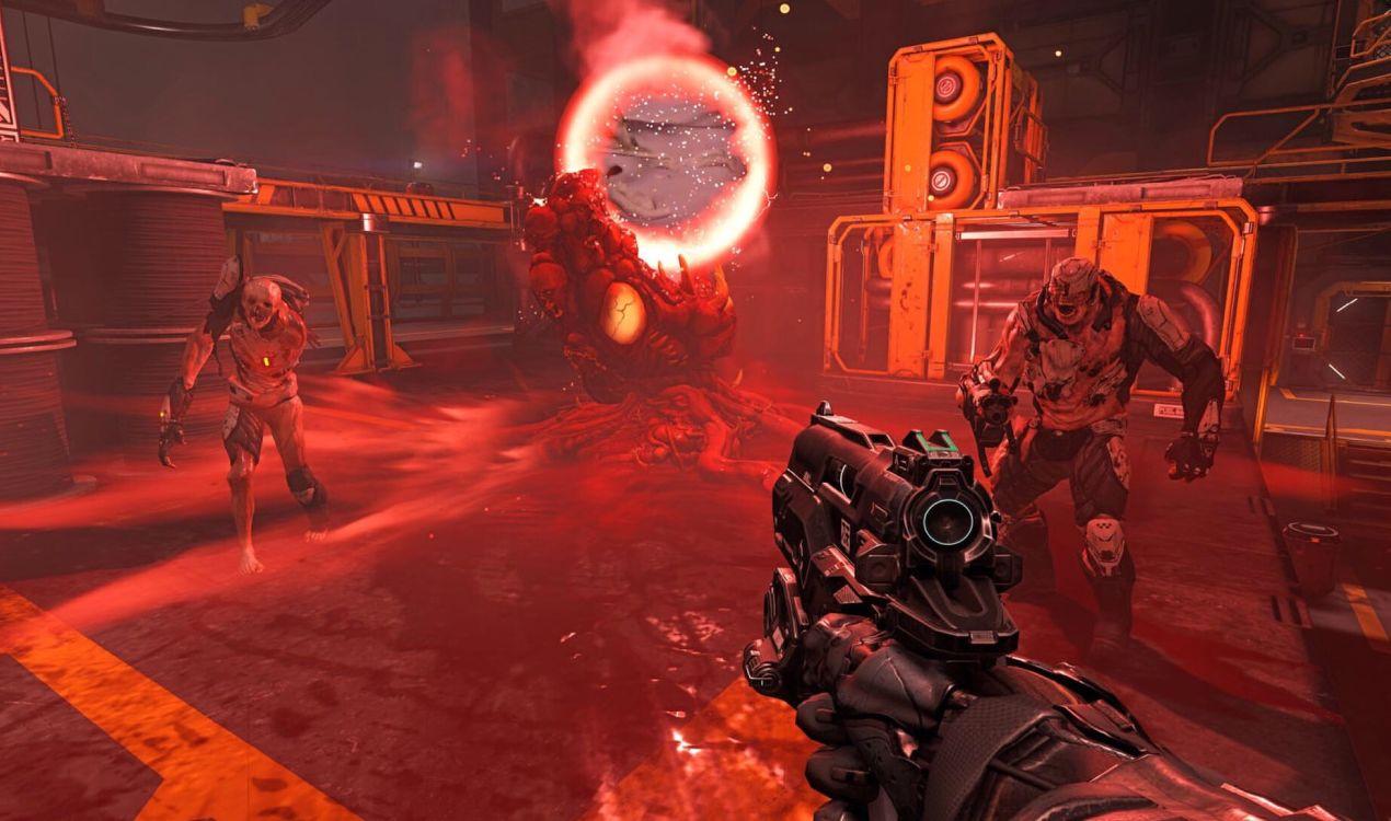 毁灭战士4精彩游戏截图