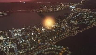 """《城市:天际线》DLC""""自然灾害""""新截图 小行星撞击"""