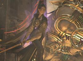 猎天使魔女PC版战斗画面