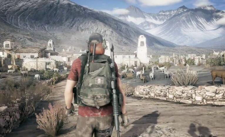 幽灵行动:荒野高清游戏截图
