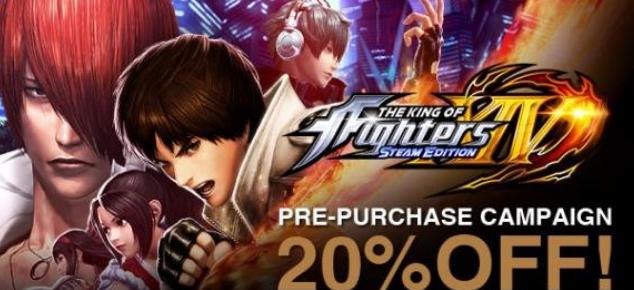 拳皇14PC版Steam发售日公布 预售开启支持简中配置要求公布