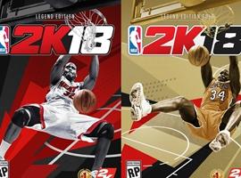 NBA 2K18游戏封面