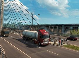 欧洲卡车模拟2英国之旅流程视频