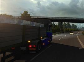 欧洲卡车模拟2英国漂洋过海到法国流程视频