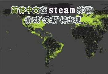 简体中文在steam称霸!游戏'汉潮'将出现