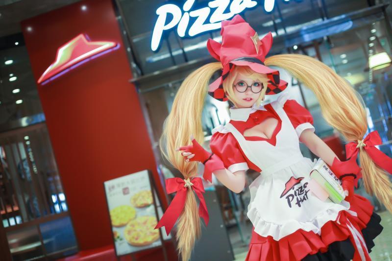 王者榮耀安琪拉魔法廚娘cosplay圖片