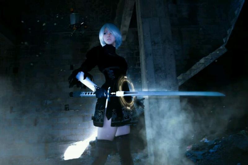 尼尔:机械纪元 2b小姐姐cosplay