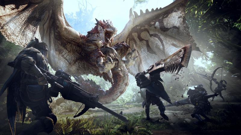 怪物猎人世界游戏壁纸